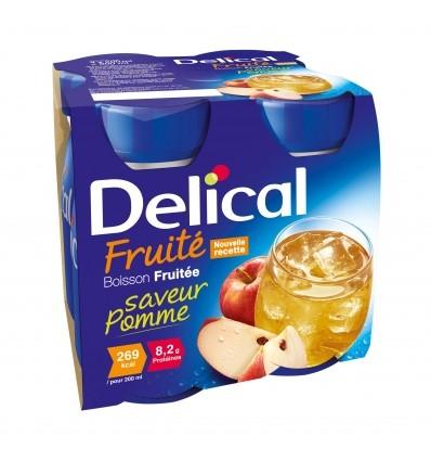 Delical boisson fruitée 4x200 ml