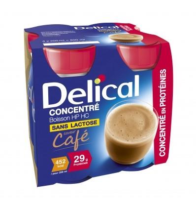 Delical boisson concentrée 4x200 ml
