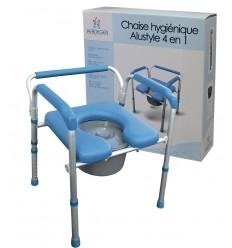 Chaise de toilette Alustyle 4 en 1
