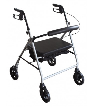Rollator 4 roues Alustyl'Max
