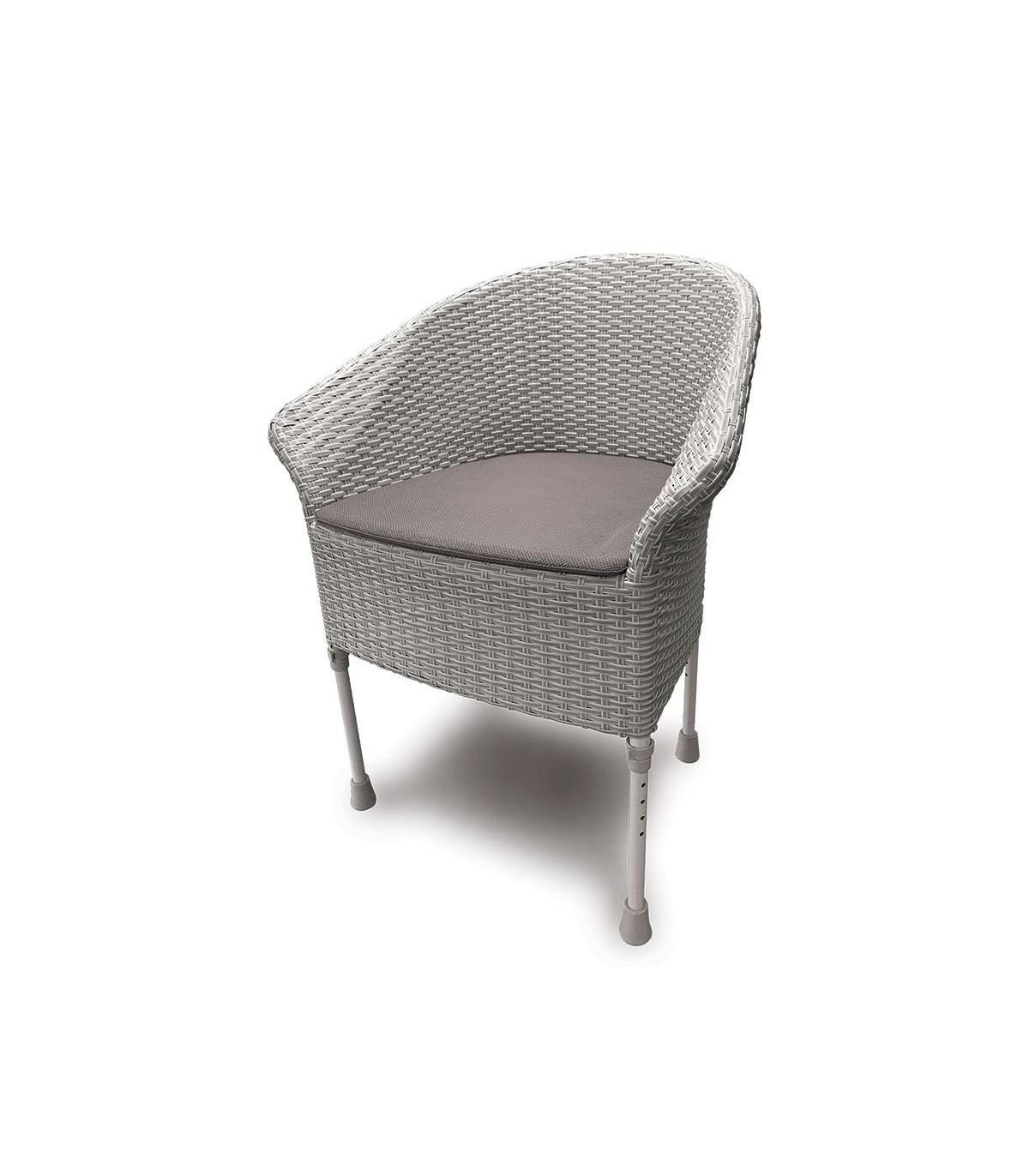 Comment Nettoyer Des Chaises En Plastique Blanc chaise percée walton - toilette - médical domicile