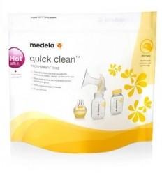 Sachets de désinfection Quick Clean pour micro-ondes