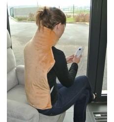 Coussin chauffant confort dos et nuque