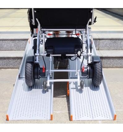Paire de rampes extra-larges Ergo pour scooters et fauteuils électriques