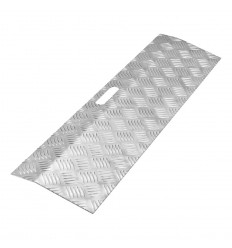 Seuil aluminium pour rollators ou fauteuils