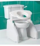 Cadre et siège de toilettes